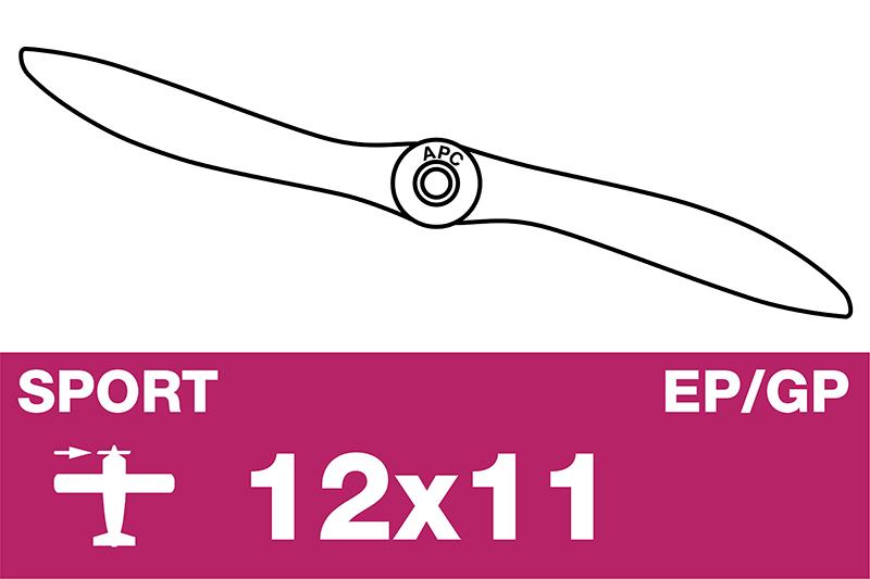 APC - Sport Propeller - EP/GP - 12X11