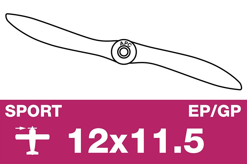APC - Sport Propeller - EP/GP - 12X11.5