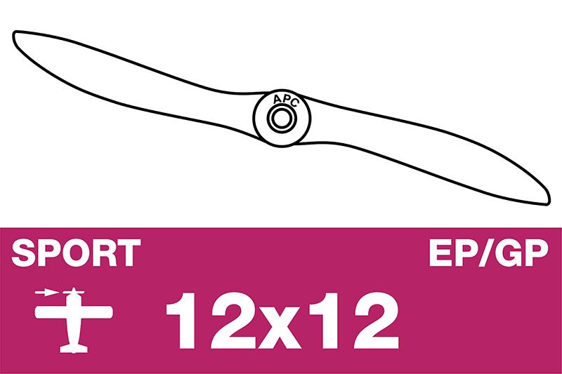 APC - Sport Propeller - EP/GP - 12X12