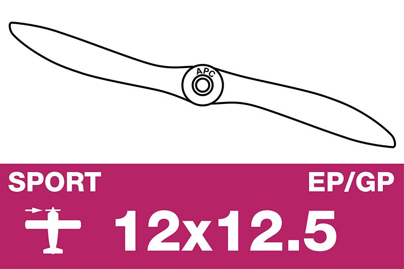 APC - Sport Propeller - EP/GP - 12X12.5