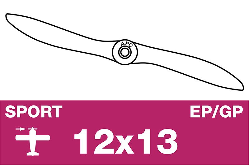 APC - Sport Propeller - EP/GP - 12X13