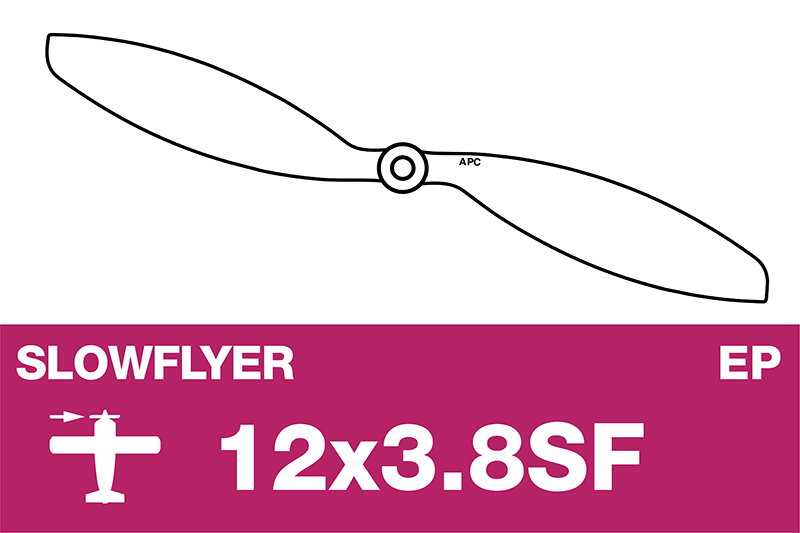 APC - SLOWFLYER Propeller - 12X3.8SF