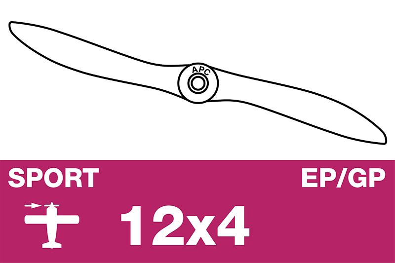 APC - Sport Propeller - EP/GP - 12X4