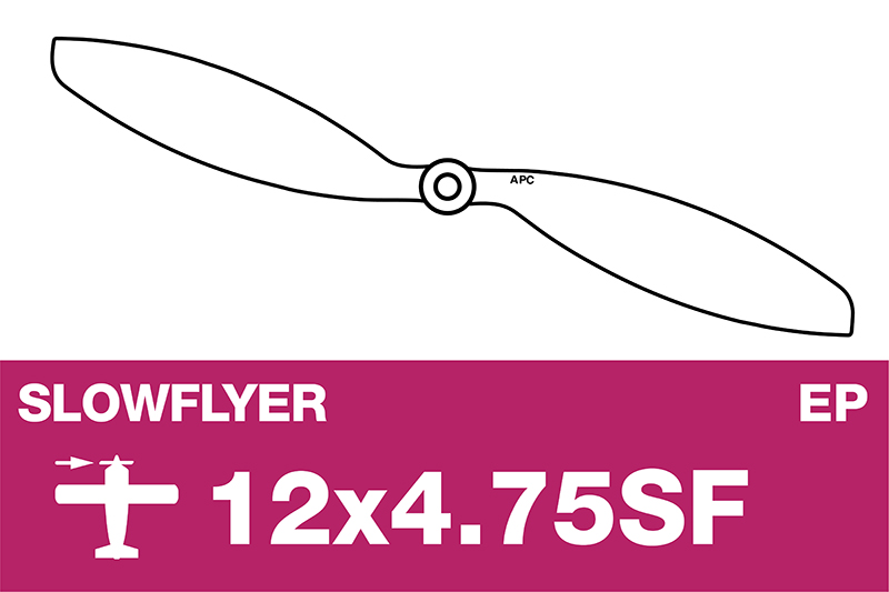 APC - SLOWFLYER Propeller - 12X4.7SF