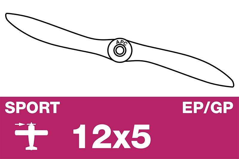 APC - Sport Propeller - EP/GP - 12X5