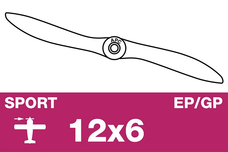 APC - Sport Propeller - EP/GP - 12X6