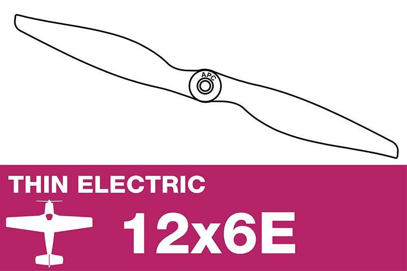 APC - Electro Propeller - Thin - 12X6E