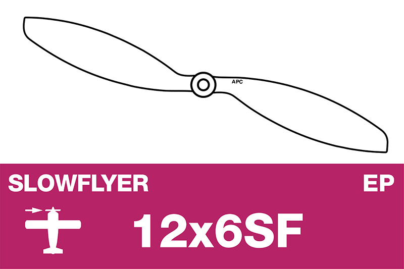 APC - SLOWFLYER Propeller - 12X6SF