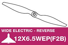 APC - Electro Propeller - Pusher / CCW - 12X6.5WEP(F2B)
