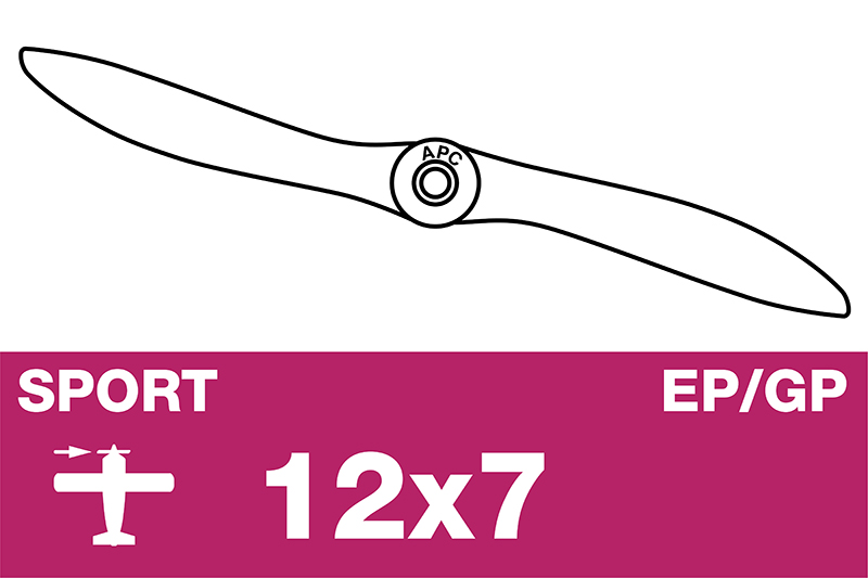 APC - Sport Propeller - EP/GP - 12X7