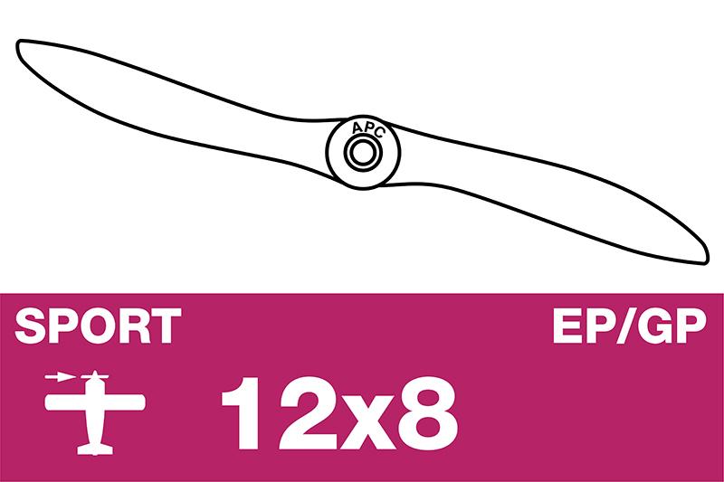 APC - Sport Propeller - EP/GP - 12X8