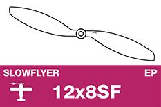 APC - SLOWFLYER Propeller - 12X8SF