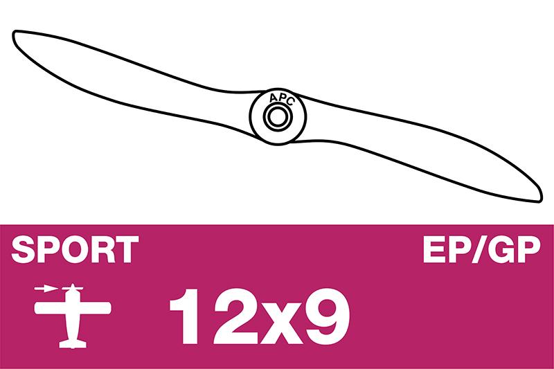 APC - Sport Propeller - EP/GP - 12X9