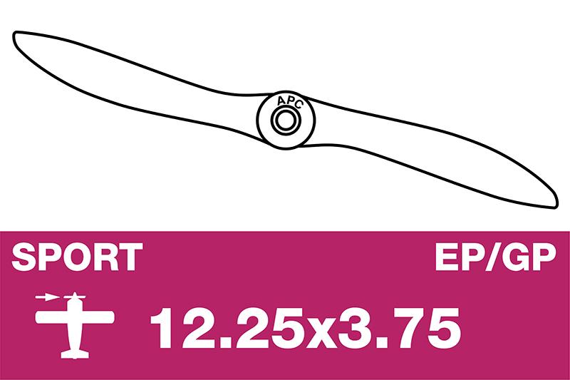 APC - Sport Propeller - EP/GP - 12.25X3.75