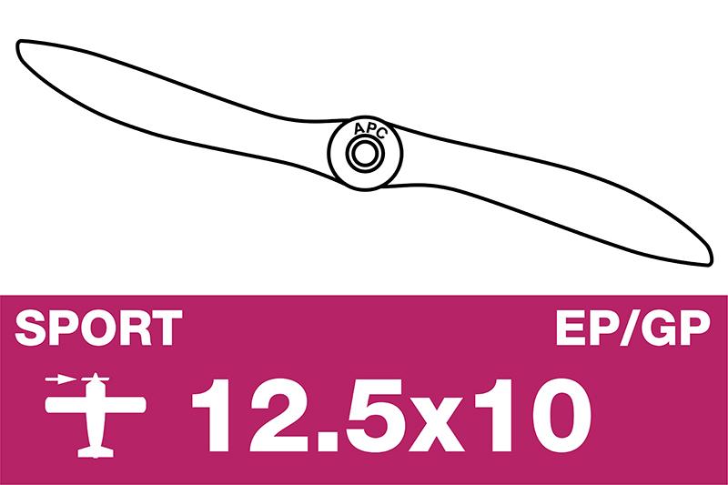 APC - Sport Propeller - EP/GP - 12.5X10