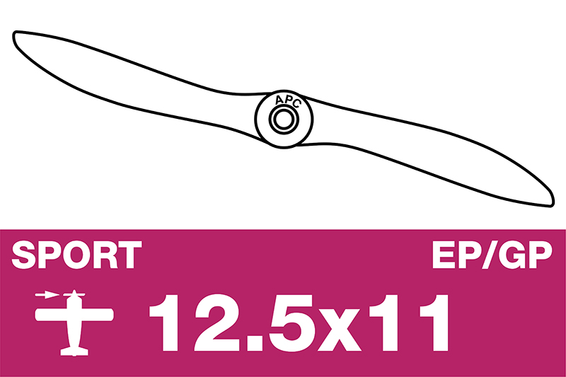APC - Sport Propeller - EP/GP - 12.5X11