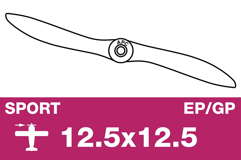 APC - Sport Propeller - EP/GP - 12.5X12.5