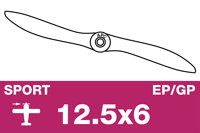 APC - Sport Propeller - EP/GP - 12.5X6