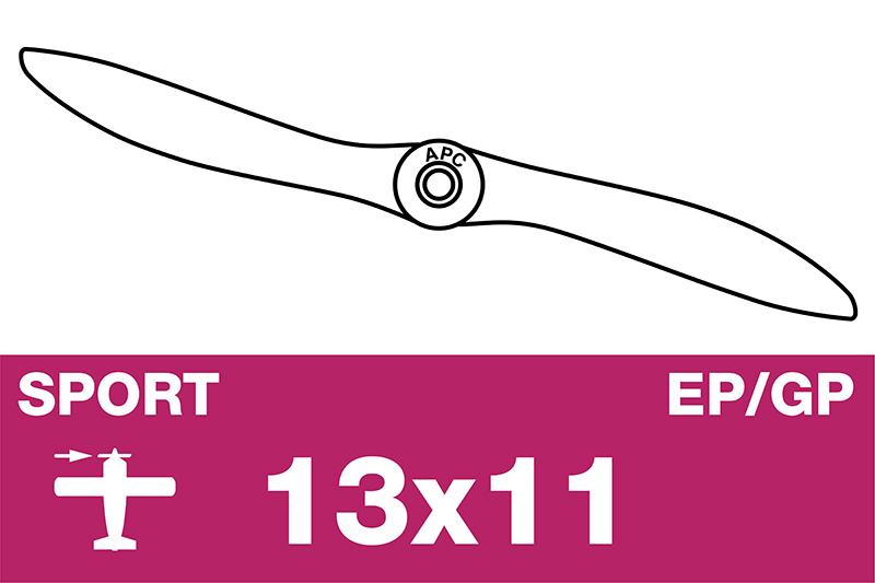 APC - Sport Propeller - EP/GP - 13X11