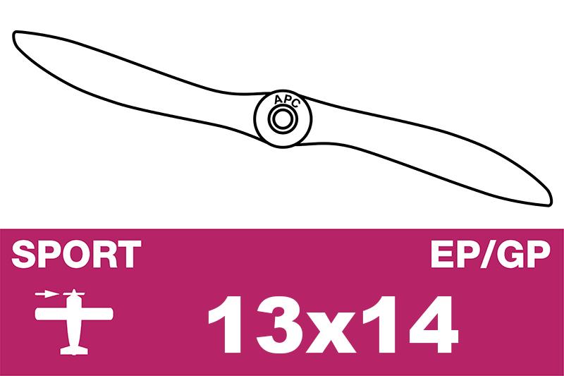 APC - Sport Propeller - EP/GP - 13X14