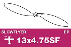 APC - SLOWFLYER Propeller - 13X4.7SF