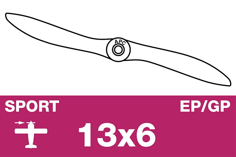 APC - Sport Propeller - EP/GP - 13X6