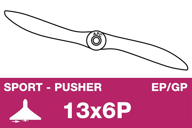 APC - Sport Propeller - Pusher / CCW - EP/GP - 13X6P