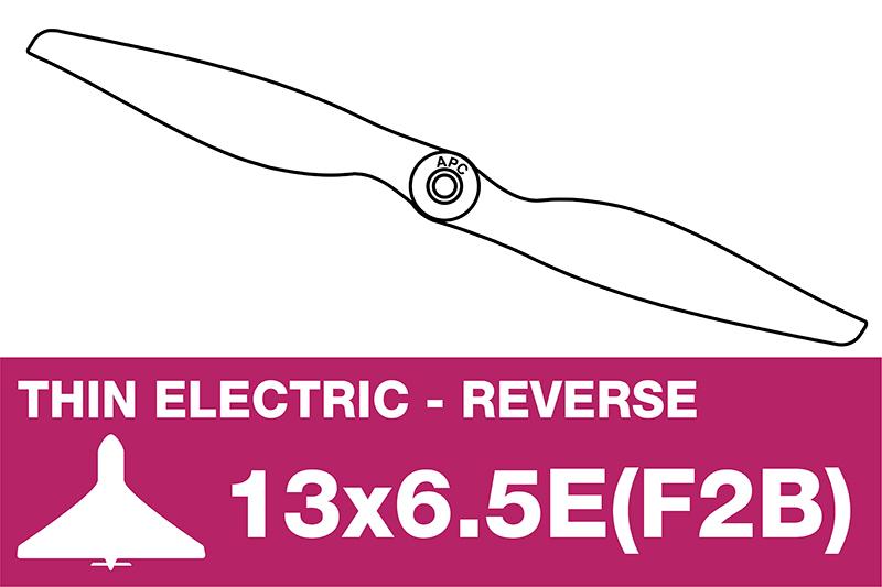 APC - Electro Propeller - Thin - 13X6.5E(F2B)