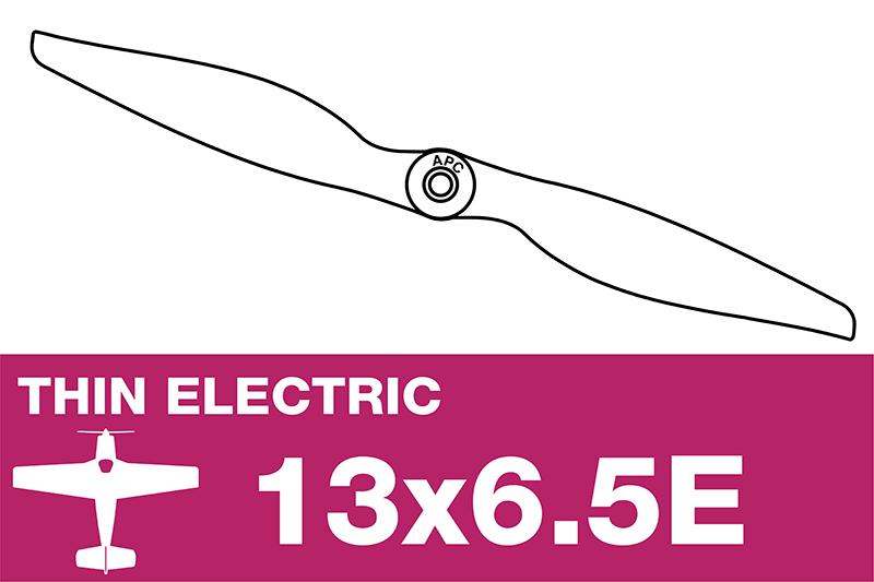 APC - Electro Propeller - Thin - 13X6.5E