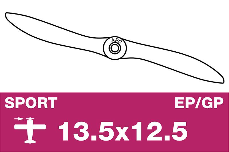 APC - Sport Propeller - EP/GP - 13.5X12.5