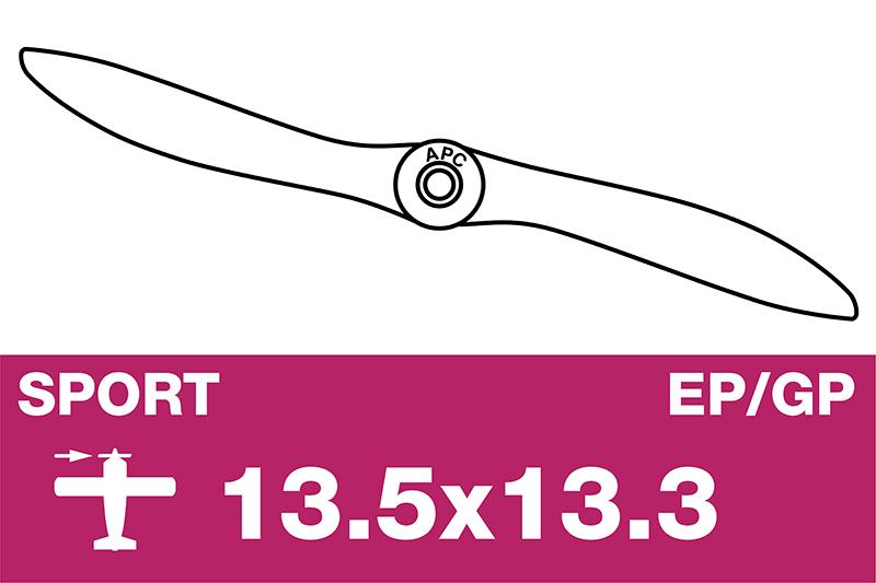 APC - Sport Propeller - EP/GP - 13.5X13.3