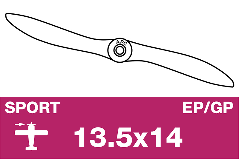 APC - Sport Propeller - EP/GP - 13.5X14