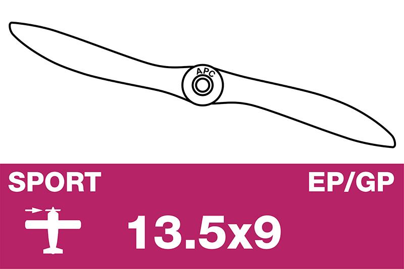 APC - Sport Propeller - EP/GP - 13.5X9