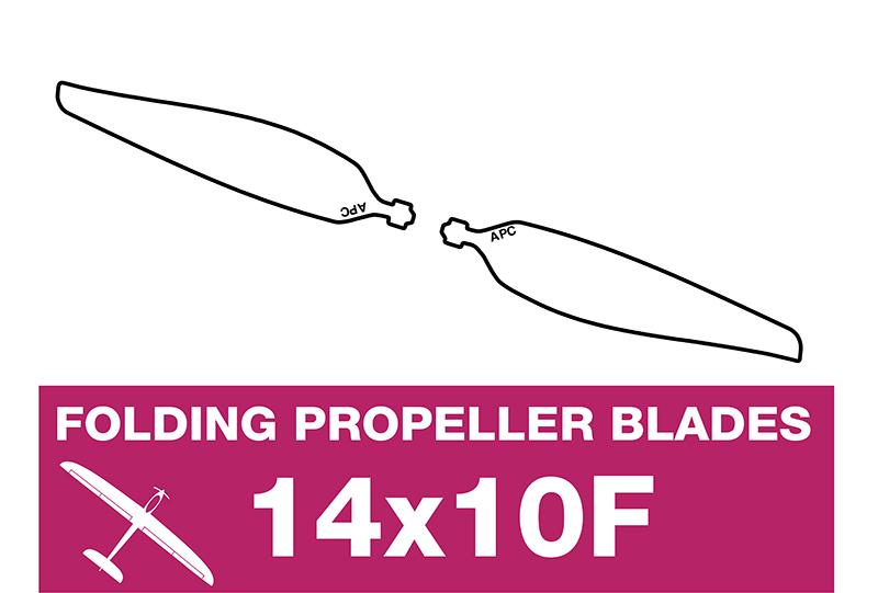 APC - Folding Electric Propeller Blades - 14X10F