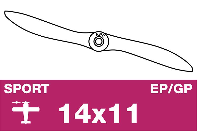APC - Sport Propeller - EP/GP - 14X11