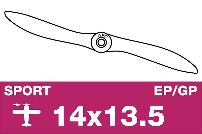 APC - Sport Propeller - EP/GP - 14X13.5