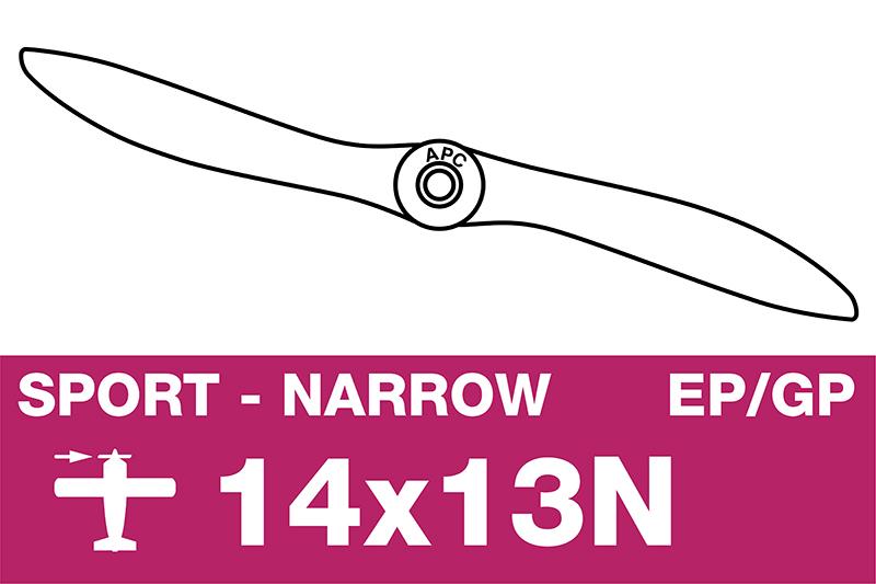 APC - Sport Propeller - Thin - EP/GP - 14X13N