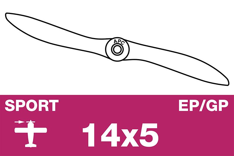 APC - Sport Propeller - Thin - EP/GP - 14X5N