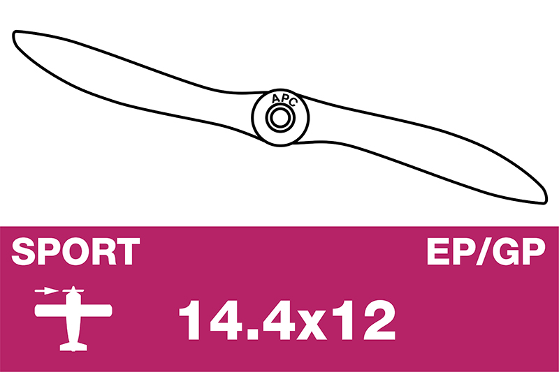 APC - Sport Propeller - EP/GP - 14.4X12