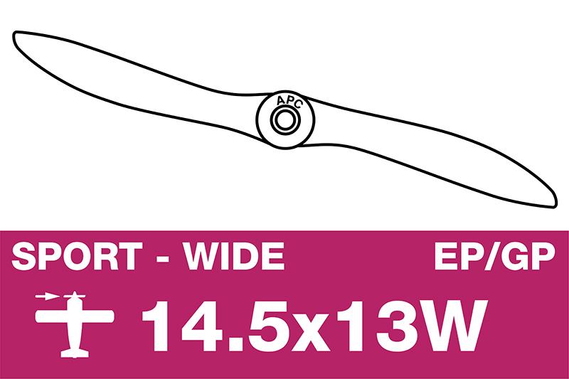 APC - Sport Propeller - EP/GP - 14.5X13W