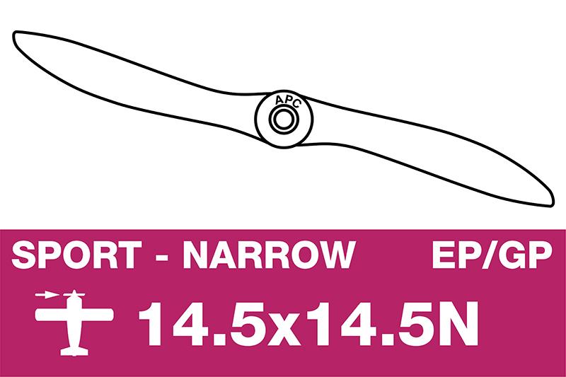 APC - Sport Propeller - Thin - EP/GP - 14.5X14.5N