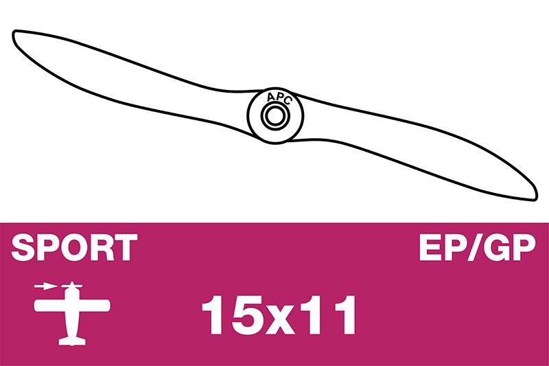 APC - Sport Propeller - EP/GP - 15X11