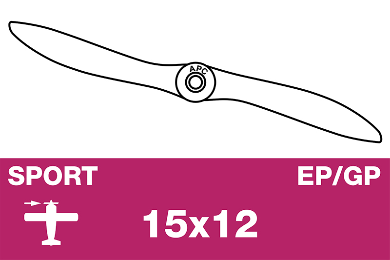APC - Sport Propeller - EP/GP - 15X12