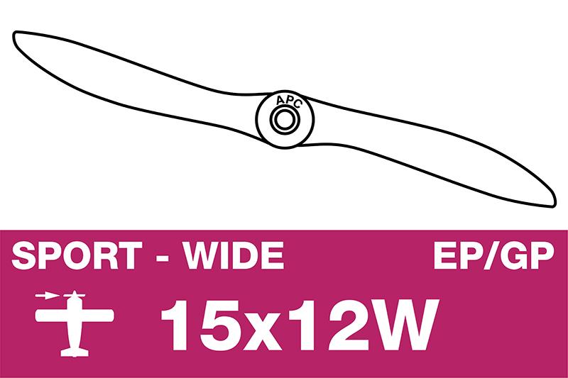 APC - Sport Propeller - EP/GP - 15X12W