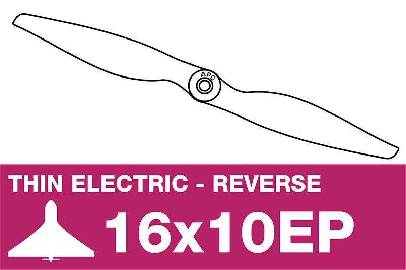 APC - Electro Propeller - Thin - Pusher / CCW - 16X10EP