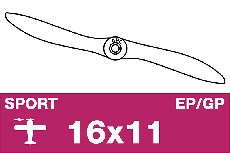 APC - Sport Propeller - EP/GP - 16X11