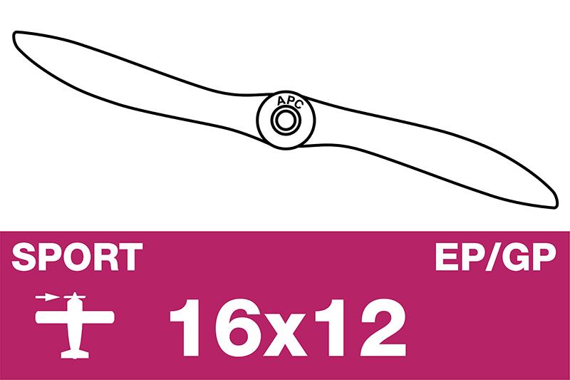 APC - Sport Propeller - EP/GP - 16X12