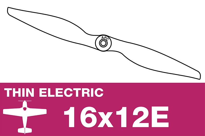APC - Electro Propeller - Thin - 16X12E