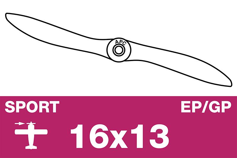 APC - Sport Propeller - EP/GP - 16X13