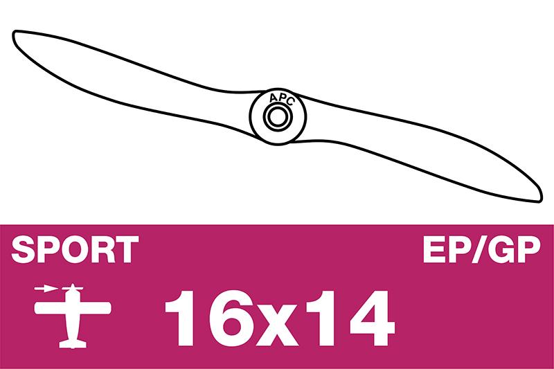 APC - Sport Propeller - EP/GP - 16X14
